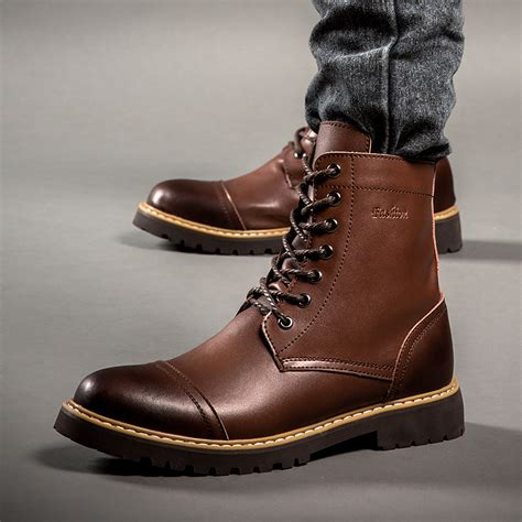 waterproof leather boots mens yu boots