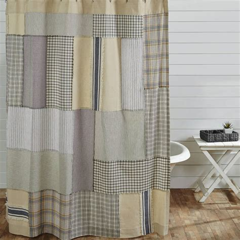plaid curtains for sale country bath shower curtain blue green shower curtain jen