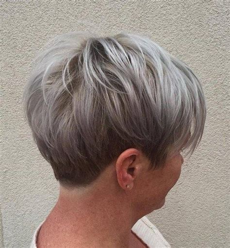 shag cuts for grey hair 50 edgy shaggy messy spiky choppy pixie cuts pixies