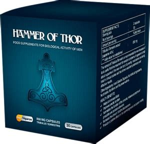hammer of thor神效滴液 成功人士的健康秘密