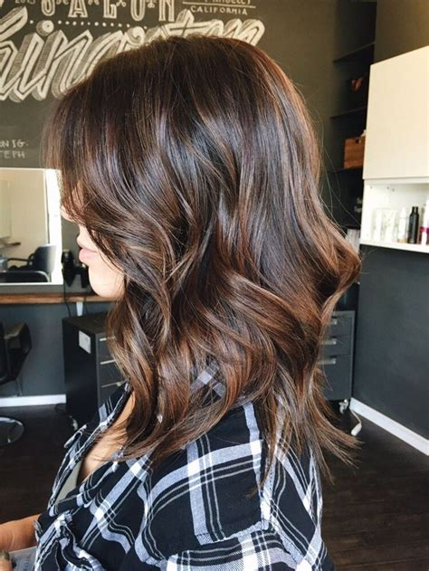 highlighted hair at 50 best 20 balayage chocolat ideas on pinterest m 232 ches de