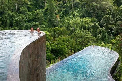 hanging infinity pools in bali the famous infinity pools picture of hanging gardens of