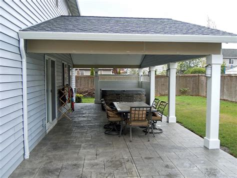 Patio Covers Custom Patio Covers Vancouver Wa Enclosed Custom Patio Cover