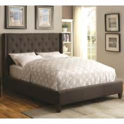 California King Bed Headboard Coaster Upholstered Beds Upholstered California King Bed With Tufted Headboard Coaster