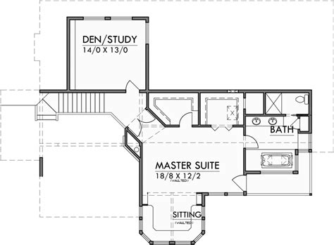 view lot house plans view lot house plans