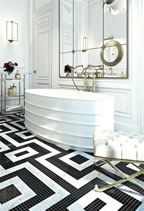 black and white mosaic tile bathroom 25 black and white mosaic bathroom tile ideas and pictures