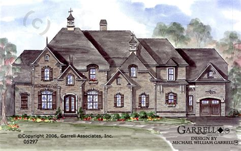 french manor house plans cedarbrook manor house plan house plans by garrell