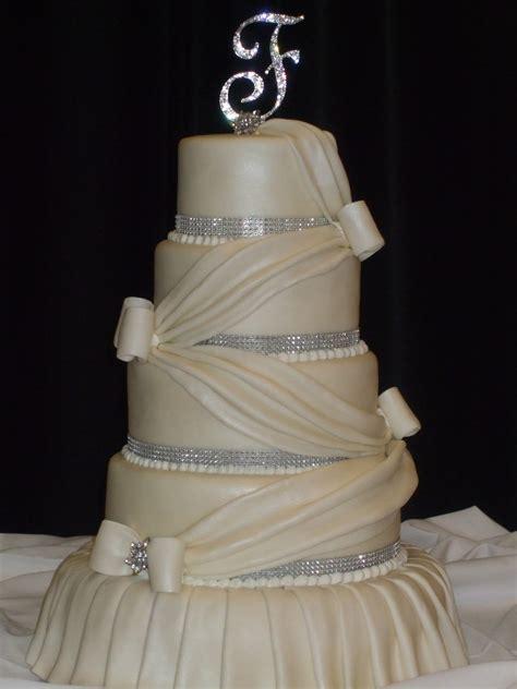 Wedding Tier Cake by Cakes By Paula 5 Tier Wedding Cake