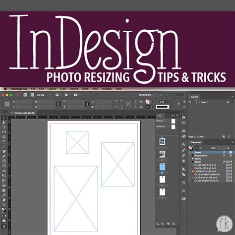 indesign layout tips adobe indesign photo resize tips tricks video finders
