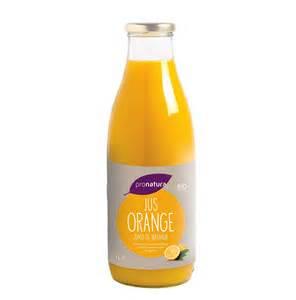 jus d orange espagne bio pronatura