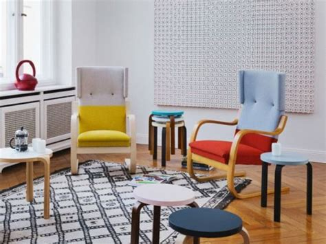 6 ikea poang chair uses and 22 awesome hacks digsdigs picture of color blocked poang chairs
