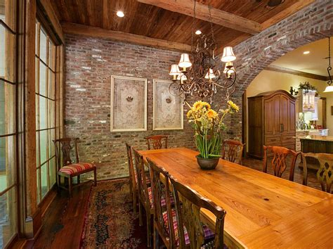 Sa Kitchen Designs 50 bold and inventive dining rooms with brick walls