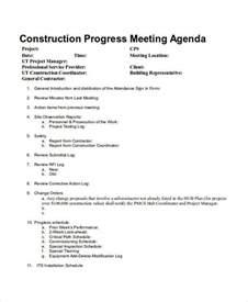site meeting agenda template 10 meeting agenda sles free sle exle format