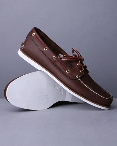 Sepatu Slip On Boat Moccasin Casual Shoes Pria Pantofel Brown timberland classic boat shoes clothes