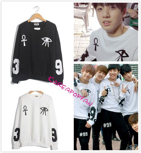 Sweater Kpop Bangtan Boys Kpop Bts Sweater Jung Kook Sweatshirt Jumper