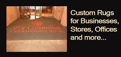 personalized rugs for business custom rugs