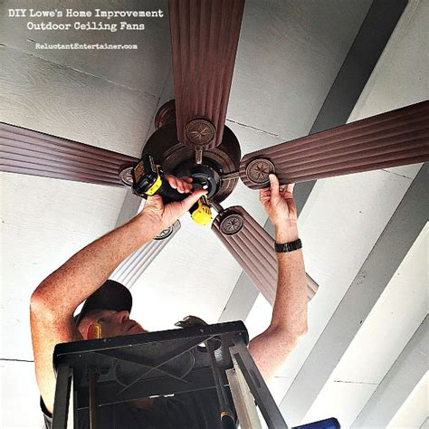 diy lowe s home improvement outdoor ceiling fans