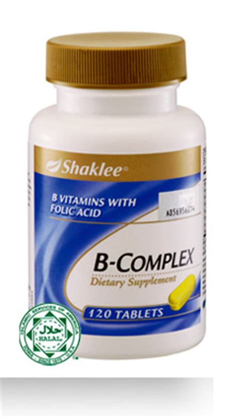 Vitamin B Complex Shaklee afro asian fusion 8 minerals and vitamins needed by