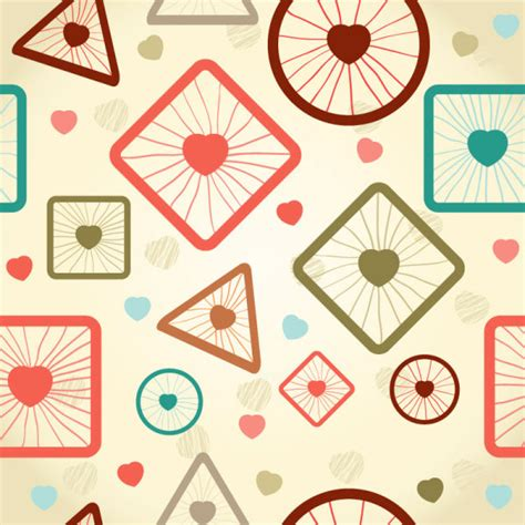 cute cartoon pattern cute cartoon decorative pattern background vector 03