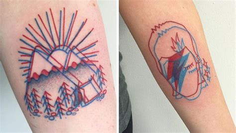 geometric 3d tattoos 3d tattoo