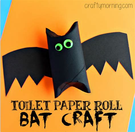 Toilet Paper Roll Bat Craft for Kids - Crafty Morning Empty Toilet Paper Roll Png