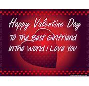 Happy Valentines Day To My Girlfriend Image Quote Pictures