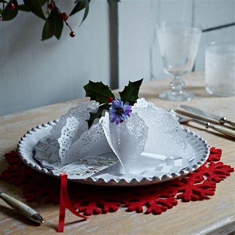decorazioni natalizie per la tavola fai da te sottopiatti natalizi in feltro le idee fai da te per la
