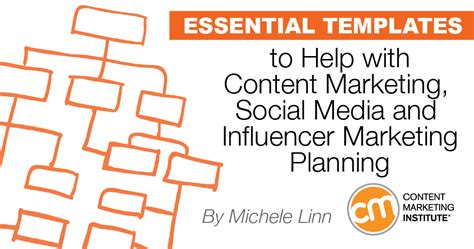 key templates for content marketing social media