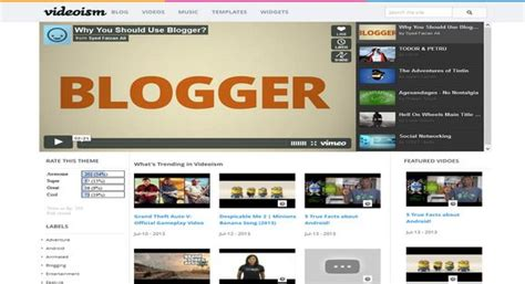 science templates for blogger videoism blogger template 2014 free download
