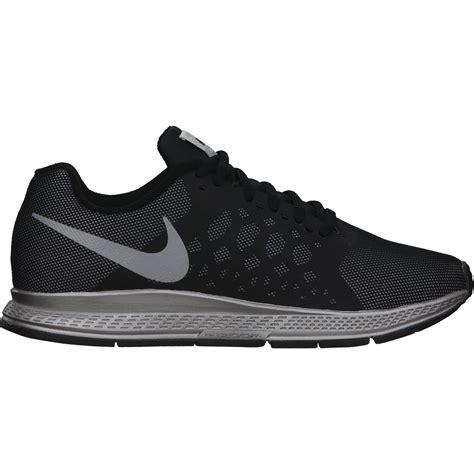 nike mens air zoom pegasus flash running shoes black