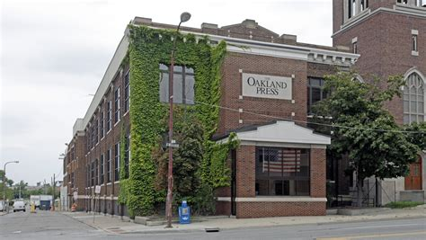 Oakland Press Pontiac by Oakland Press To Downsize From Its Space In Downtown