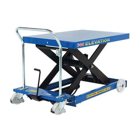 Lifting Table by Electric Scissor Lift Table 1000kg Mobile Scissor Tables Uk