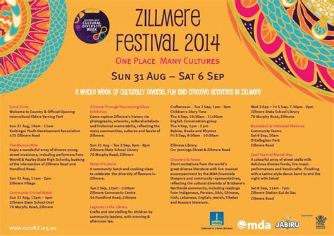 diversity themed events zillmere festival 2014 brisbane