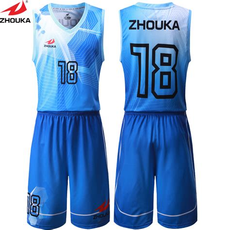jersey design basketball blue and white sublimation printing blue white any color basketball
