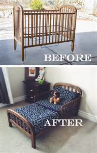 do it yourself divas diy crib into toddler bed