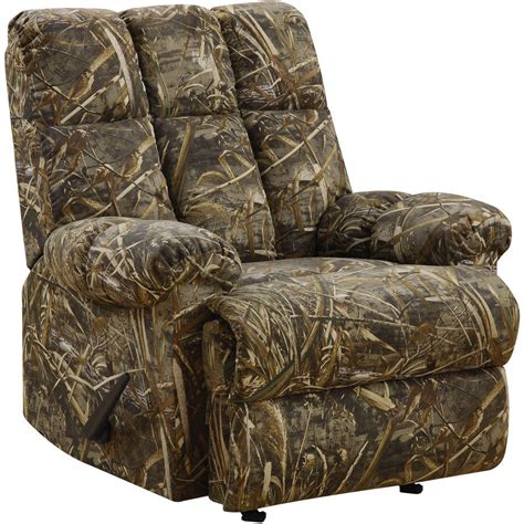 camo recliners at walmart camouflage recliner offers challenging new style