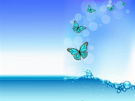Butterfly Background Powerpoint 1 Moving Butterfly For Powerpoint
