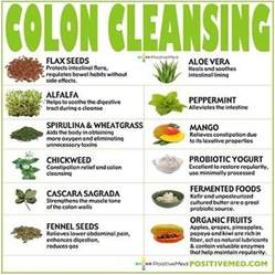 colon cleansing foods healing