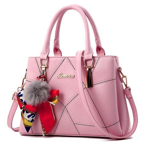 Tas 065 Import Fashion Handbags 4 In 1 2017 new handbag fashion bag handbag pu
