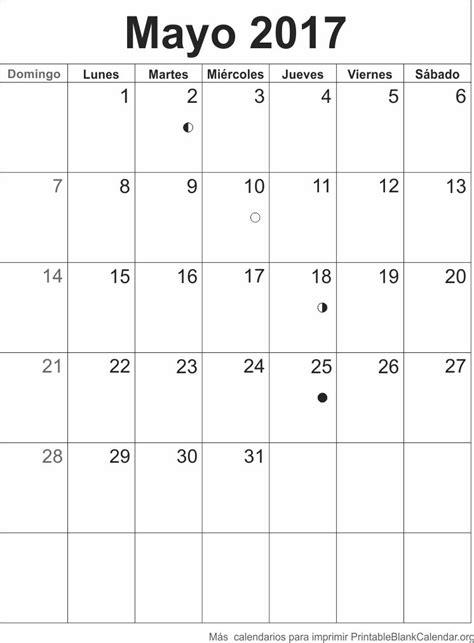 Calendario Mes De Mayo Mayo 2017 Calendario Para Imprimir Calendarios Para Imprimir