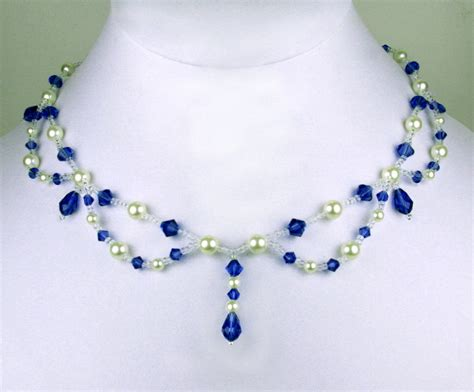 free jewelry patterns free pattern for beaded necklace magic