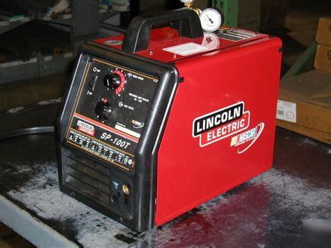 refurbished lincoln welders lincoln sp100t mig welder refurbished 120v u1474 2 ref