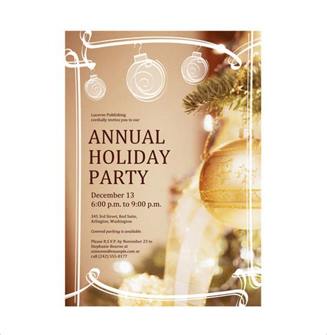 celebration flyer template 18 fantastic invitation flyer templates free premium