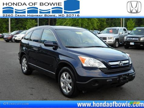 2007 honda crv blue royal blue pearl crv