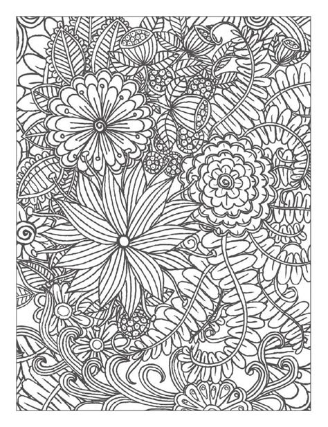 detailed flower coloring pages www imgkid com the