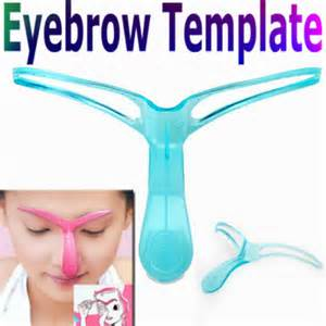 Eyebrow Shaping Templates professional eyebrow template stencil shaping diy tool