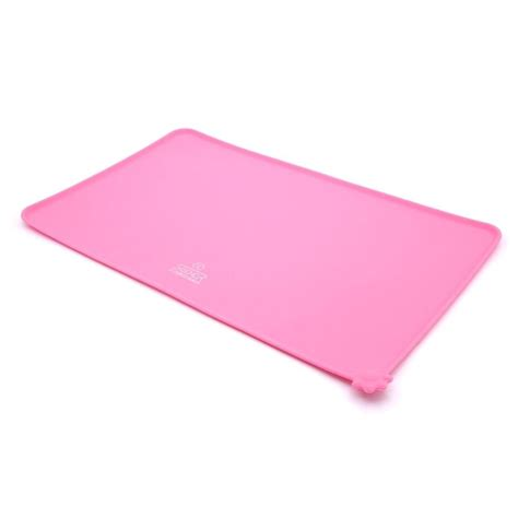 Pet Feeding Mats by Pet Feeding Food Mat Tray For Dogs Cats Silicone Black
