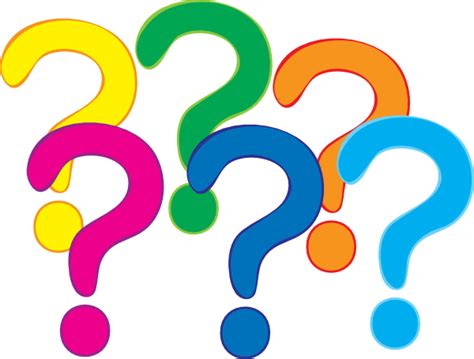 clipart question coloured question marks clip at clker vector
