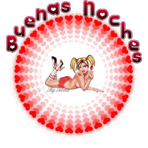 imagenes animadas hot buenas noches chica sexy en corazones imagenes y carteles