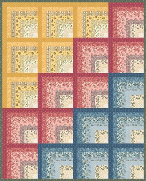 Free Quilt Fabric by Floral Splendor Free Pattern Robert Kaufman Fabric Company